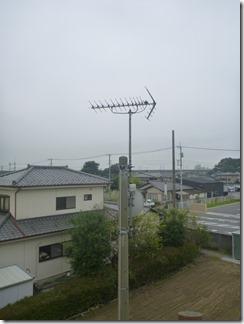 熊谷市佐谷田M様 アンテナ工事完了。