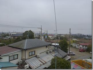 鴻巣市新井K様 東京スカイツリー方向の景色。