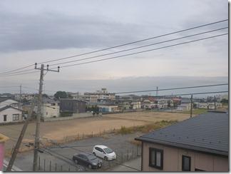 行田市緑町K様 東京スカイツリー方向の景色(完了)。