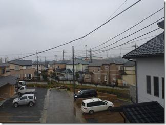 熊谷市佐谷田Y様 東京スカイツリー方向の景色(完了)。