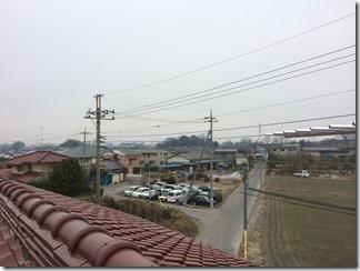 熊谷市上奈良H様 東京スカイツリー方向の景色(完了)。