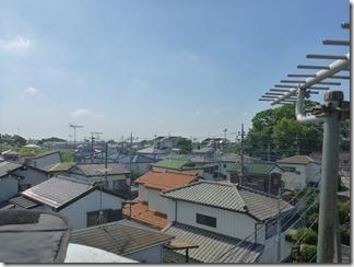 加須市馬内H様 東京スカイツリー方向の景色。