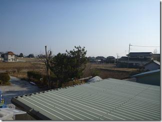 加須市弥兵衛W様 東京スカイツリー方向の景色(完了)。
