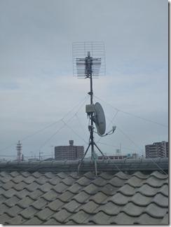 鴻巣市吹上本町A様 アンテナ工事完了。