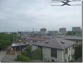 鴻巣市吹上本町A様 東京スカイツリー方向の景色(完了)。