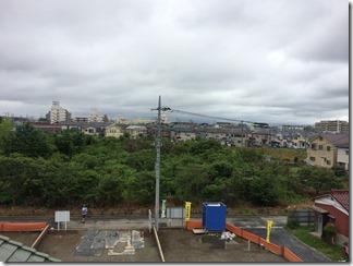 鴻巣市小松K様 東京スカイツリー方向の景色。