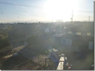 熊谷市東別府K様 児玉局方向の景色2。