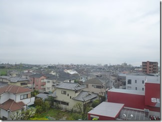 熊谷市原島N様 東京スカイツリー方向の景色。