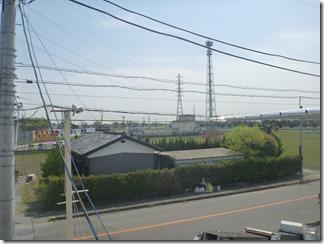 行田市持田P様 東京スカイツリー方向の景色(完了)。