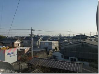 行田市下須戸M様 東京スカイツリー方向の景色。