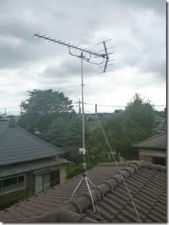 行田市真名板Y様 アンテナ工事完了。