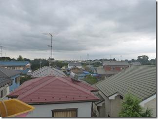行田市真名板Y様 東京スカイツリー方向の景色(完了)。