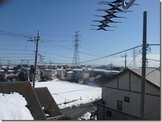 熊谷市玉井T様 東京スカイツリー方向の景色(完了)。