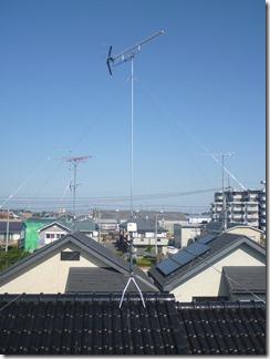 鴻巣市下忍S様 アンテナ工事完了。