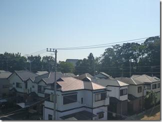 鴻巣市下忍S様 東京スカイツリー方向の景色(完了)。