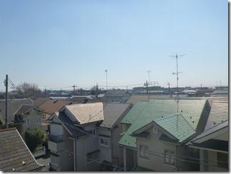 行田市藤原町S様 東京スカイツリー方向の景色(完了)。