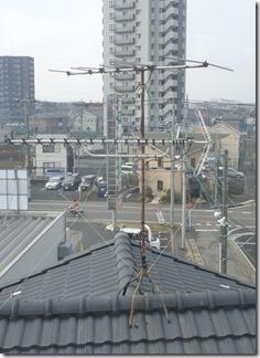 上尾市久保K様 アンテナ工事完了。