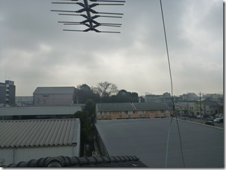 上尾市久保K様 東京スカイツリー方向の景色(完了)。