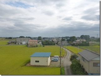 行田市真名板O様 東京スカイツリー方向の景色(完了)。