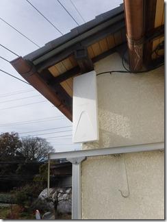 桶川市上日出谷H様 アンテナ工事完了。