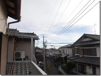 桶川市上日出谷H様 東京スカイツリー方向の景色(完了)。