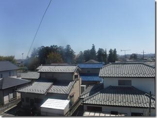 深谷市永田K様 東京スカイツリー方向の景色(完了)。