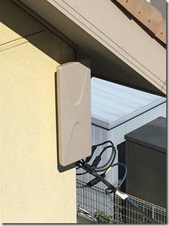 鴻巣市屈巣K様 アンテナ工事完了(UHF)。