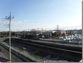 鴻巣市ひばり野K様 東京スカイツリー方向の景色(完了)。