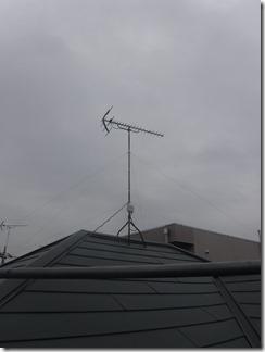 鴻巣市新宿K様 アンテナ工事完了。
