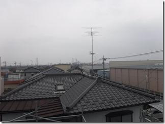 鴻巣市新宿K様 東京スカイツリー方向の景色(完了)。