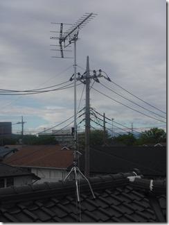 鴻巣市中央S様 アンテナ工事完了。