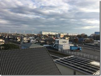 加須市騎西S様 東京スカイツリー方向の景色。