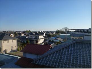 行田市荒木O様 東京タワー方向の景色(完了)。