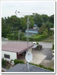 加須市常泉K様 アンテナ工事完了。.JPG