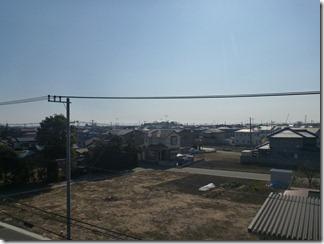 鴻巣市赤城S樣 東京タワー方向の景色(完了)。