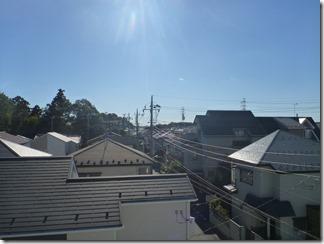 上尾市平塚Y樣 東京スカイツリー方向の景色。