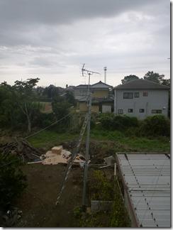鴻巣市広田A樣 アンテナ工事完了(完了)。