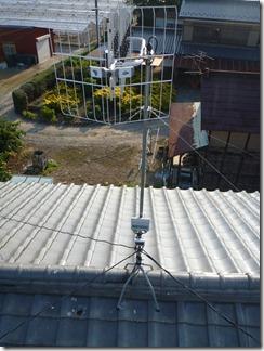 鴻巣市北根Y様 アンテナ工事完了。
