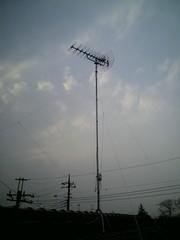 南河原K様UHF単独建柱完了しました。.jpg