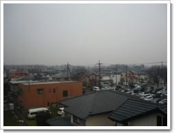 桶川市下日出谷西I様 受信方向(東京タワー方向)の景色。.JPG