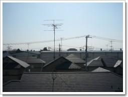 幸手市上高野O様 受信方向(東京タワー方向)の景色。.JPG
