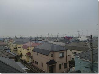 鴻巣市生出塚S樣 東京スカイツリー方向の景色(完了)。