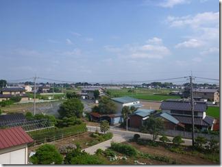 行田市埼玉I様 東京タワー方向の景色。