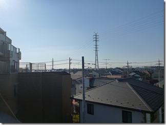 北本市西高尾M様 東京タワー方向の景色(完了)。