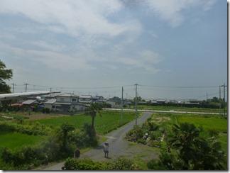 羽生市中手子林M樣 東京スカイツリー方向の景色。