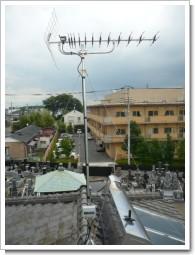 上尾市向山M様 アンテナ工事完了。.JPG