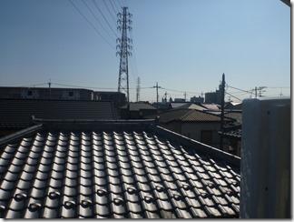 鴻巣市宮地M樣 東京スカイツリー方向の景色(完了)。