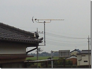 羽生市三田ケ谷S様 アンテナ工事完了。