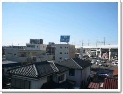 久喜市東K様受信方向(東京タワー方向)の景色。.JPG