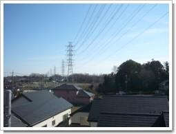 上尾市上F様 受信方向(東京タワー方向)の景色.JPG